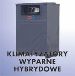 Hybrydowe klimatyzatory wyparne