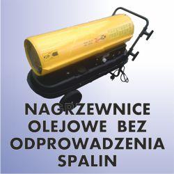 Nagrzewnice olejowe bez odprowadzenia spalin