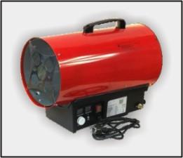 nagrzewnice gazowe - wynajem